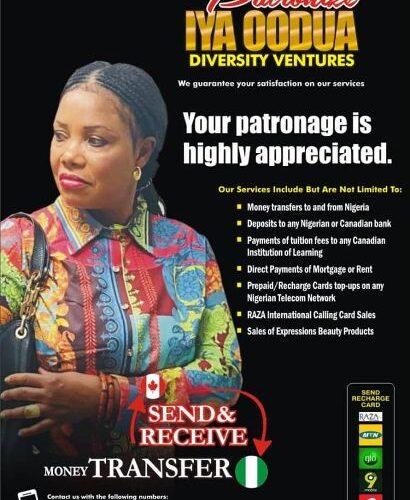 Iya Oodua Diversity Ventures